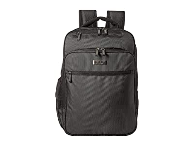 Kenneth Cole Reaction 16 EZ Scan RFID Computer Backpack (Pindot Charcoal) Backpack Bags