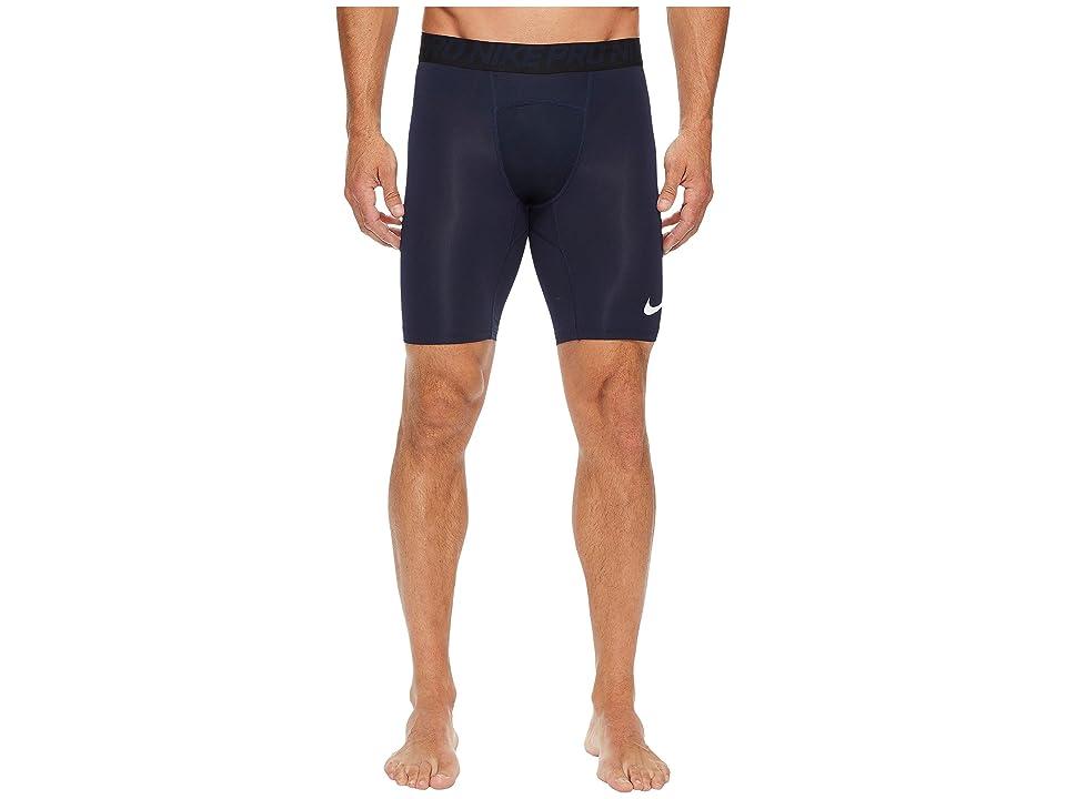 Nike Pro Short (Obsidian/White/White) Men
