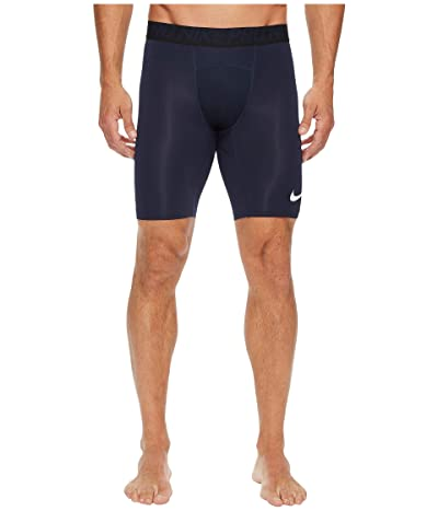 Nike Pro Short (Obsidian/White/White) Men