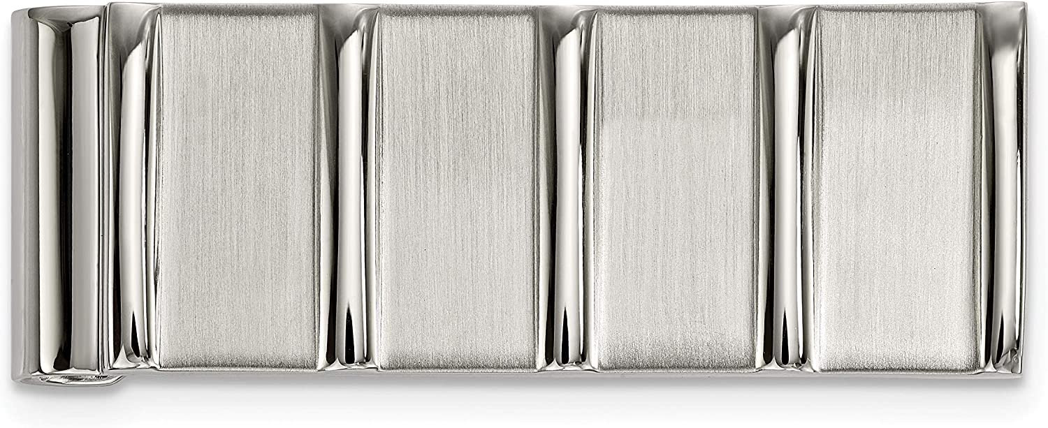 Stainless Steel Polished/Brushed Money Clip