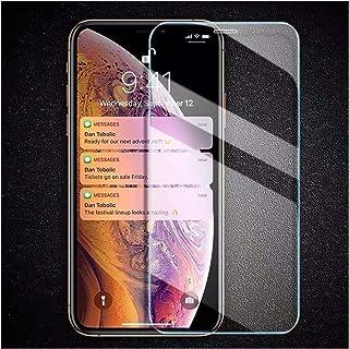 واقي شاشة 3Pcs Tempered Glass Compatible with iPhone X XS XR Screen Protector Glass Compatible with iPhone XS MAX XR Glass...