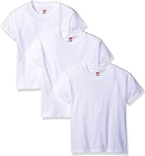 Hanes Big Boys' Short Sleeve Comfort Soft Tee Pack of 3