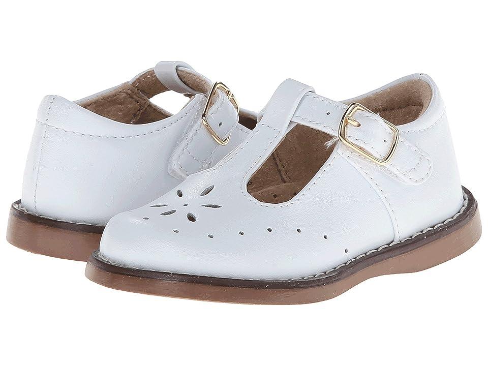 FootMates Sherry 2 (Toddler/Little Kid) (White) Girls Shoes