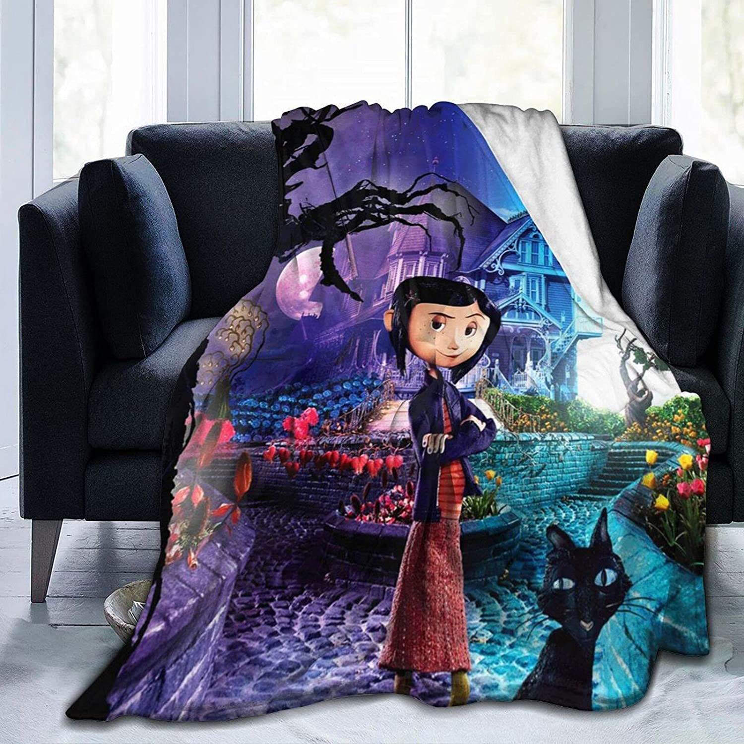Coraline Blanket Limited Ranking TOP17 time trial price Flannel Fleece Luxury Ultra Blanke Soft