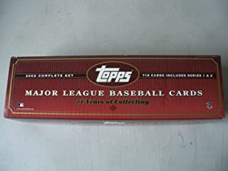 2002 Topps Baseball Factory Opened Complete Set 718 Cards Plus a Pack of 5 Insert Cards