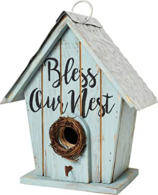 The Bridge Collection 'Bless Our Nest' Shabby Chic Birdhouse