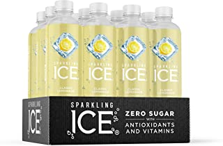Sparkling Ice, Classic Lemonade Sparkling Water, with antioxidants and vitamins, Zero..
