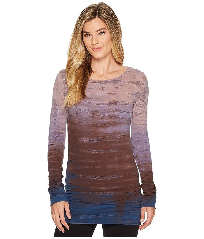 Hard Tail Long Skinny Tee (Rainbow Horizon 46) Women's T Shirt
