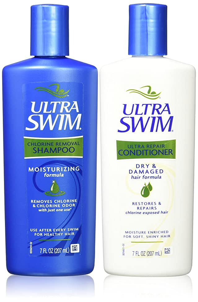 UltraSwim Dynamic Duo Repair Shampoo and Conditioner, 7 Fluid Ounce Each rjfzjksn846
