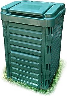 WORTH GARDEN 堆肥コンポスター250L大容量 家庭菜園堆肥 (ダークグリーン)