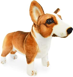 VIAHART Caerwyn The Pembroke Welsh Corgi | 18 Inch Large Welsh Corgi Dog Stuffed Animal Plush Dog | by Tiger Tale Toys