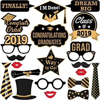 graphic regarding Printable Graduation Photo Booth Props called : Commencement - Photobooth Props / Occasion Social gathering