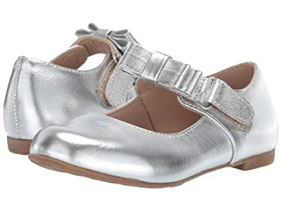 Elephantito Charlotte Mary Jane (Toddler/Little Kid) (Silver) Girls Shoes