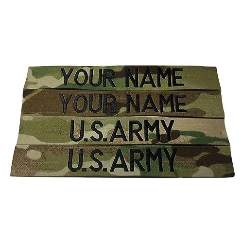 4 piece Multicam OCP Name   US Army Tape set dad542dfbff