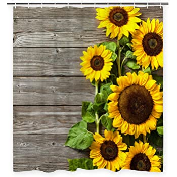 Sunflower Fabric Background Womens Beachwear Durability Classic