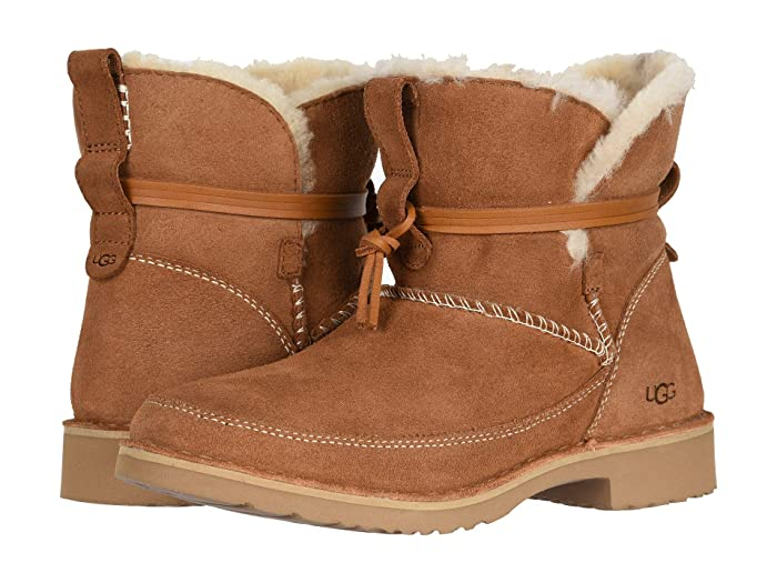 Women's Vintage Shoes & Boots to Buy UGG Esther Chestnut Womens Boots $159.95 AT vintagedancer.com