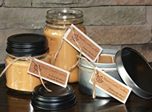 Maple Creek Candles Brown Sugar & Sweet Vanilla Rolled Up Into A Sweet Cookie ~ Soy Wax Blend 8oz jar candle