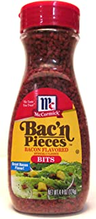 McCormick Bac'n Pieces Bacon Flavored Bits (Pack of 2) 4.4 oz Size