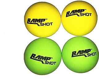 RampShot Replacement Balls 4pc set(2green,2yellow)