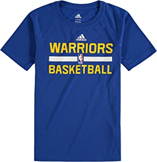 Golden State Warriors Blue Short Sleeve Practice Tee Kids