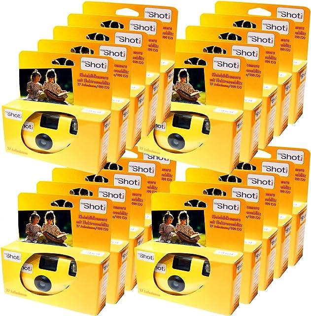 20 x Edition Photo porst Desechables Cámara/cámara Boda/Fiesta Cámara (27 Fotos con Flash y Pilas)