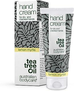 Australian Bodycare Hand Cream 100ml | Tea Tree Oil + Lemon Myrtle | Tea Tree Oil Handkräm för daglig vård av torr hud på ...