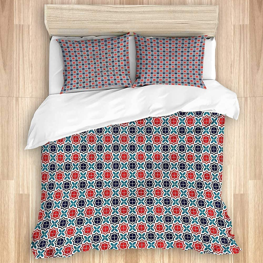 excellence NELTICZ Duvet Cover Set King Size Pillowcases 1 Free Shipping New 2 Quilt