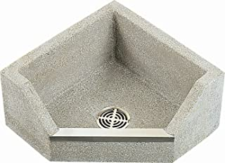 Crane TSBC1610501 White Marble/White Cement Commercial Neocorner 6