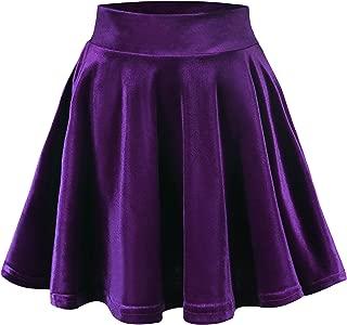 Best purple velvet mini skirt Reviews