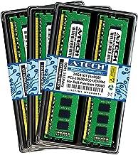A-Tech 24GB ECC Unbuffered Memory Kit (6 x 4GB) for DELL Precision T3500 (3500) Workstation Desktop Tower - ECC UDIMM DDR3 PC3-10600 1333MHz 240-Pin DIMM 2Rx8 1.5V Dual Rank RAM (ATMS316754-10859X6)