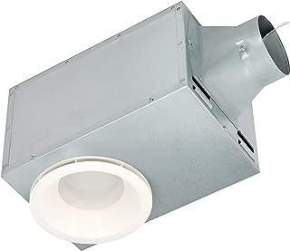 Delta Breez REC80LED 15.6W 1.5 Sones Recessed Series 80 CFM Recessed Fan/LED Light & Nightlight