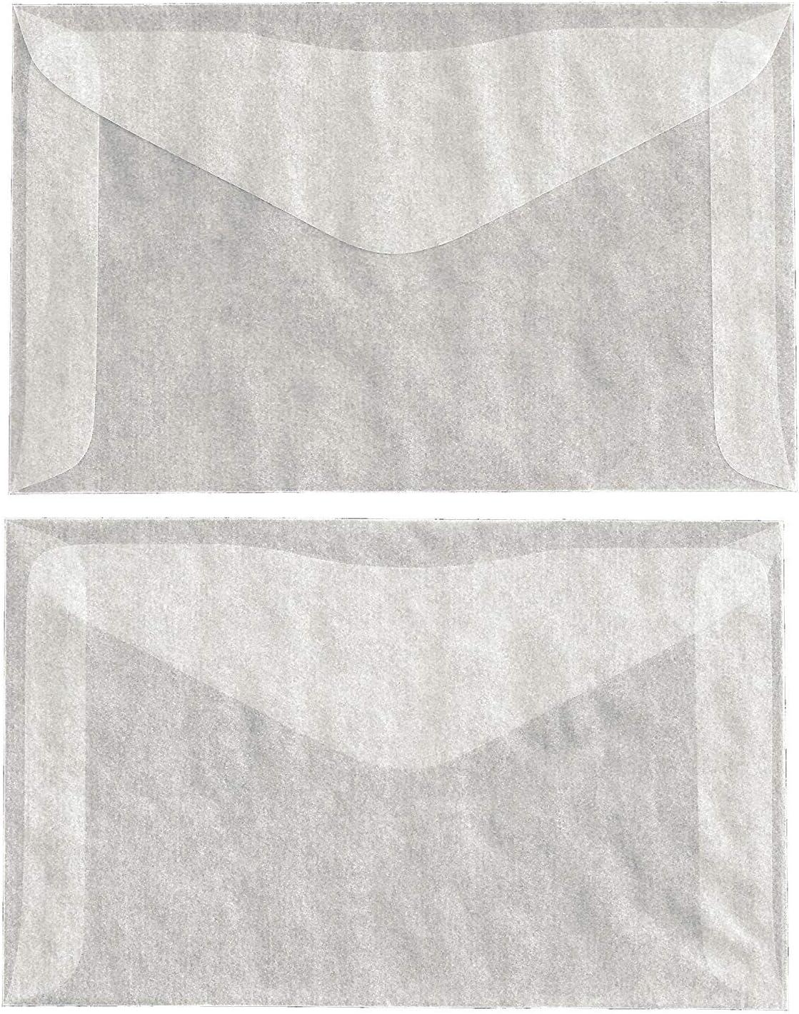 Business Card Envelopes 3 14  x 4 58  Glassine Bags set of 300 Treat Bags Wedding Favor Bags