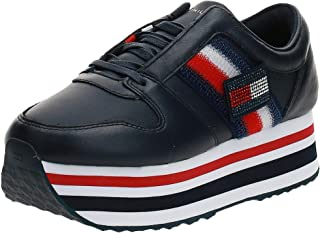 Tommy Hilfiger TOMMY CUSTOMIZE FLATFORM SNEAKER womens Sneakers