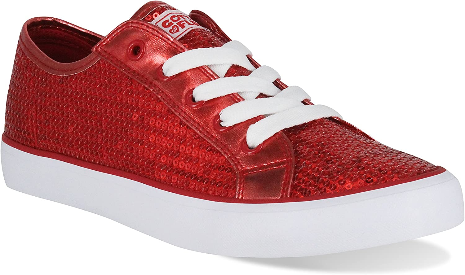 Gotta Flurt Youth Disco II Lace Up Low Top Sneakers
