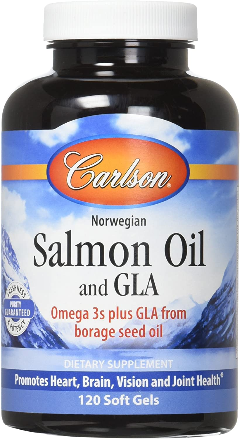 Carlson Salmon Oil List price And Softgels 120 Store GLA