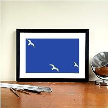Brighton & Hove Albion FC - Impresión artística, diseño de gaviotas
