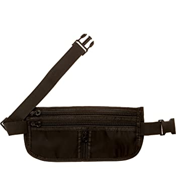 EpicTraveller Premium Money Belt - Secure RFID Shielding Hidden Travel Pouch - Discreet & Concealable Cash, Cards, Passport & Valuables Safe Storage - Fully Adjustable & Wearable Under All Clothes