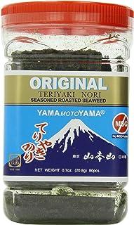 Yamamotoyama Teriyaki Nori Seaweed, 0.7-Ounce Jars (Pack of 6)