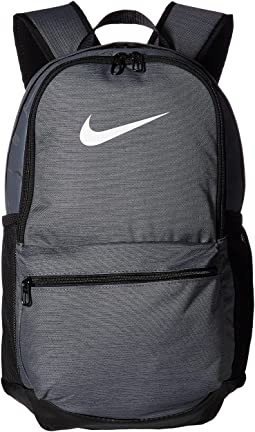 Flint Grey Black White. 143. Nike. Brasilia Medium Backpack e52db000030db