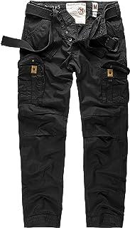 Surplus Premium Trousers Slimmy, Black, Size XXL