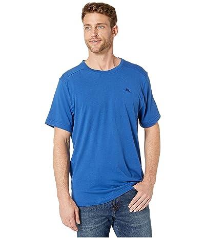 Tommy Bahama Crew Neck Lounge T-Shirt (Monaco Blue) Men