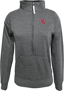 Adult Women ½ Zip Fleece Sweatshirt, Gray, Small