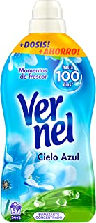 Vernel Suavizante Lavadora Concentrado Cielo Azul - 57