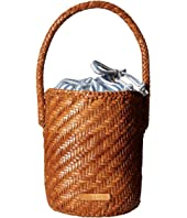 Loeffler Randall - Cleo Woven Leather Bucket
