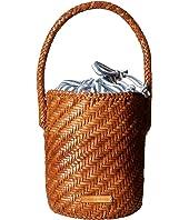 Loeffler Randall - Cleo Woven Leather Bucket