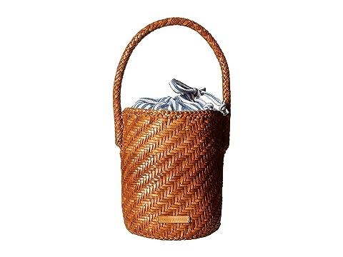 Loeffler Randall Cleo Woven Leather Bucket