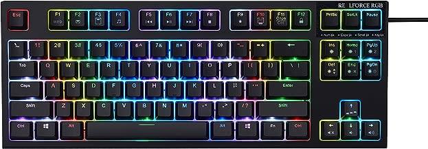 topre realforce rgb premium gaming keyboard