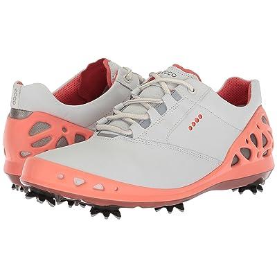 ECCO Golf Cage GTX (White/Coral) Women