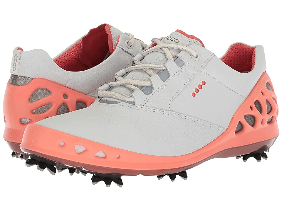 ECCO Golf Cage GTX (White/Coral) Women