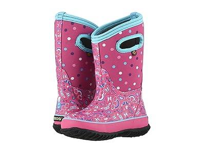 Bogs Kids Classic Rainbow (Toddler/Little Kid/Big Kid) (Pink Multi) Girls Shoes